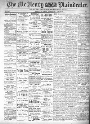 McHenry Plaindealer (McHenry, IL), 9 Jun 1897