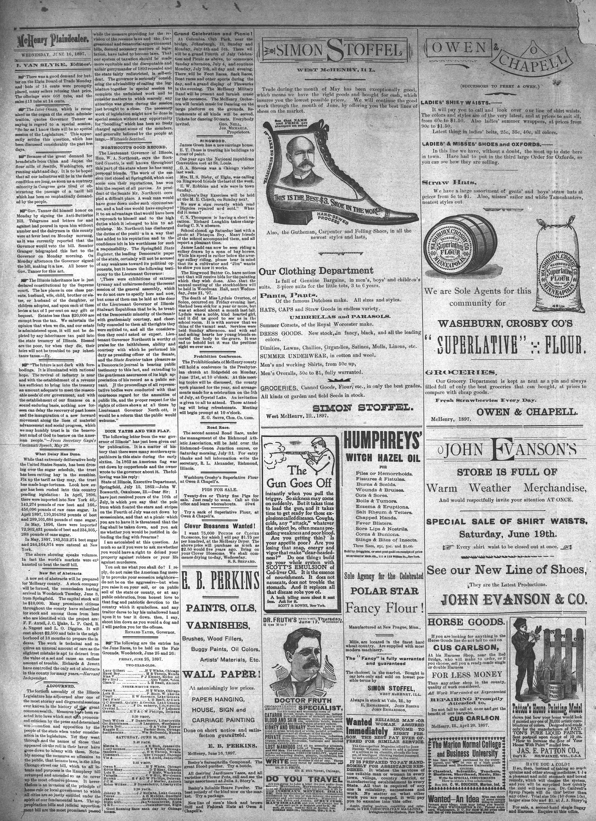 McHenry Plaindealer (McHenry, IL), 16 Jun 1897