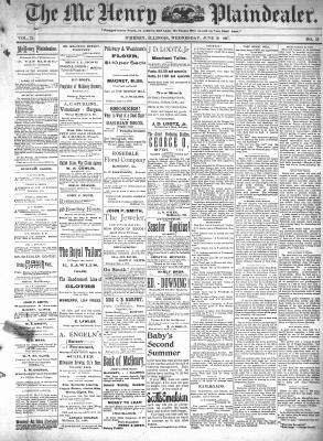 McHenry Plaindealer (McHenry, IL), 30 Jun 1897