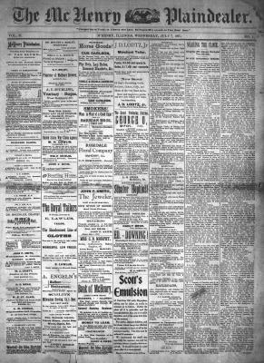 McHenry Plaindealer (McHenry, IL), 7 Jul 1897