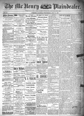McHenry Plaindealer (McHenry, IL), 14 Jul 1897
