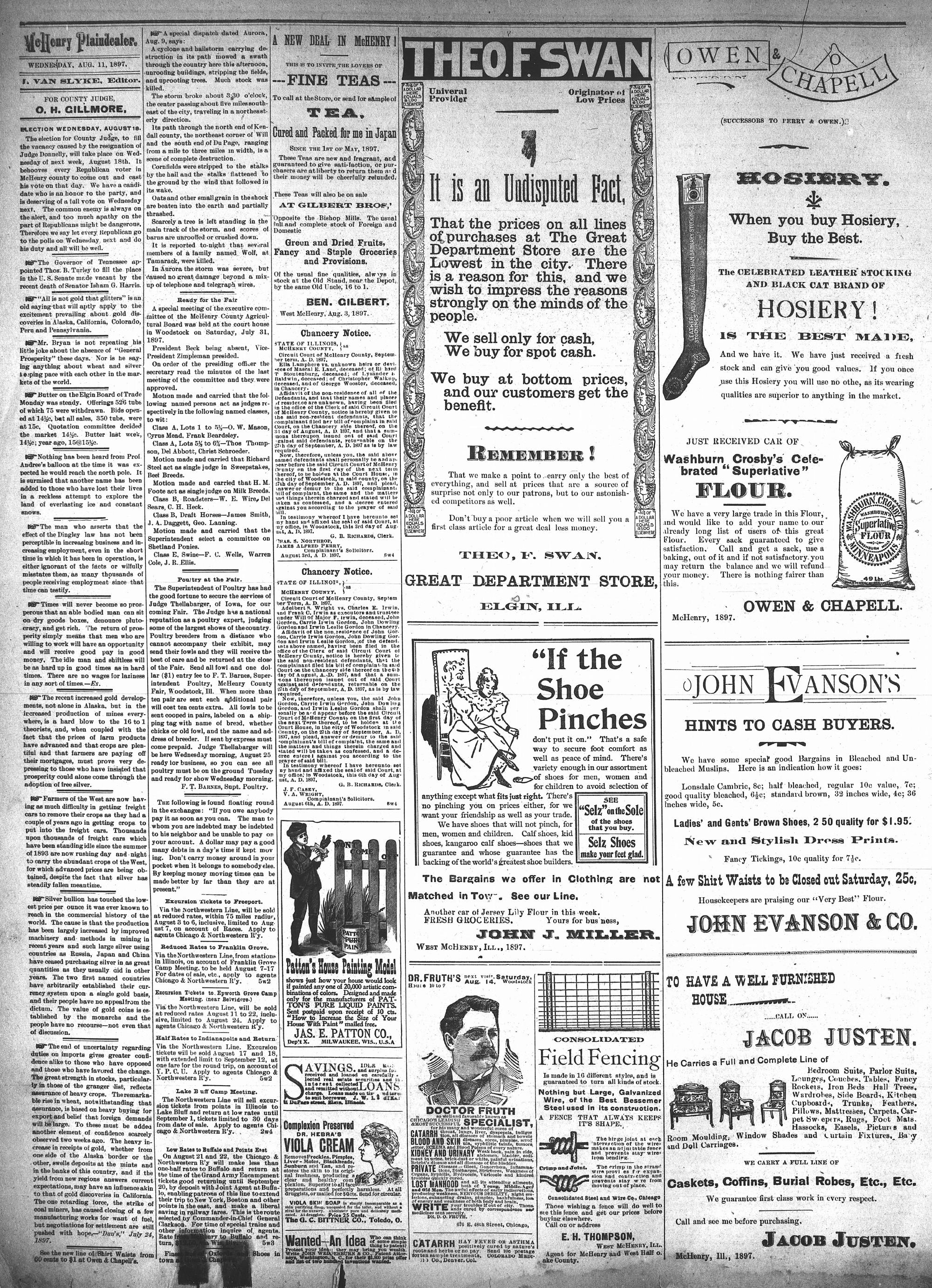 McHenry Plaindealer (McHenry, IL), 11 Aug 1897