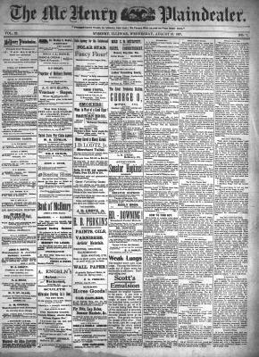 McHenry Plaindealer (McHenry, IL), 18 Aug 1897