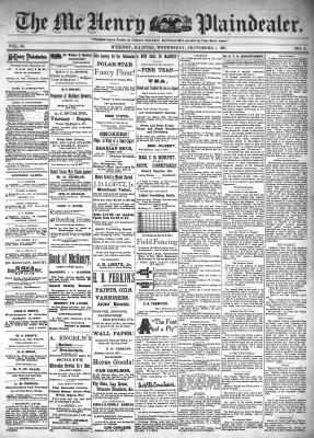 McHenry Plaindealer (McHenry, IL), 1 Sep 1897