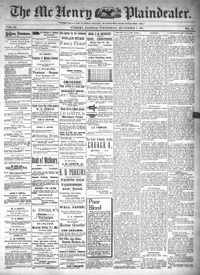 McHenry Plaindealer (McHenry, IL), 8 Sep 1897