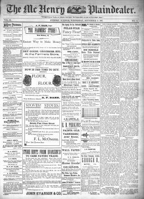 McHenry Plaindealer (McHenry, IL), 15 Sep 1897