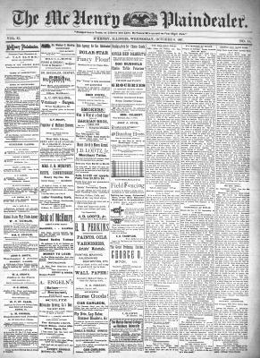 McHenry Plaindealer (McHenry, IL), 6 Oct 1897