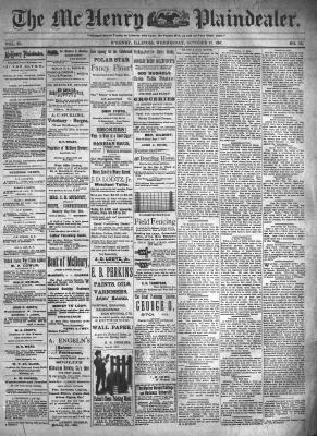 McHenry Plaindealer (McHenry, IL), 13 Oct 1897