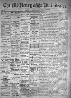 McHenry Plaindealer (McHenry, IL), 20 Oct 1897