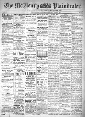 McHenry Plaindealer (McHenry, IL), 27 Oct 1897
