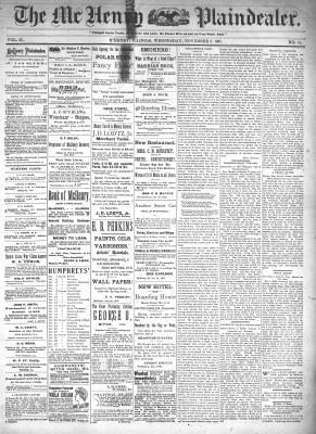 McHenry Plaindealer (McHenry, IL), 3 Nov 1897