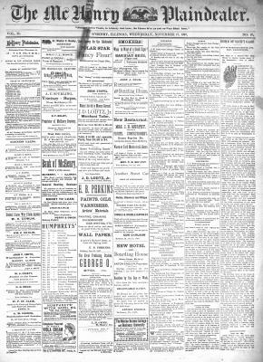 McHenry Plaindealer (McHenry, IL), 17 Nov 1897