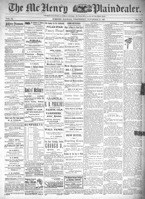 McHenry Plaindealer (McHenry, IL), 24 Nov 1897
