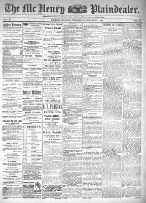 McHenry Plaindealer (McHenry, IL), 1 Dec 1897