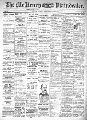 McHenry Plaindealer (McHenry, IL), 15 Dec 1897