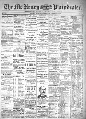 McHenry Plaindealer (McHenry, IL), 22 Dec 1897