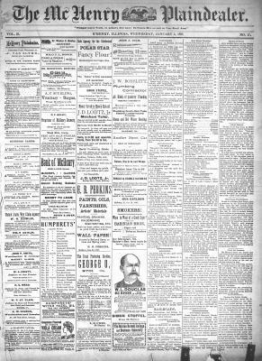 McHenry Plaindealer (McHenry, IL), 5 Jan 1898
