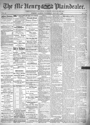 McHenry Plaindealer (McHenry, IL), 12 Jan 1898