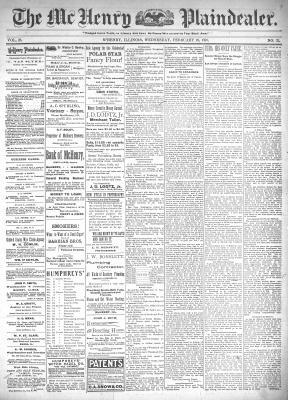 McHenry Plaindealer (McHenry, IL), 16 Feb 1898