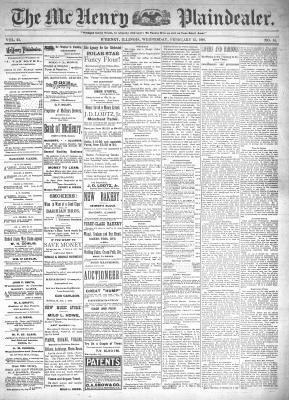 McHenry Plaindealer (McHenry, IL), 23 Feb 1898