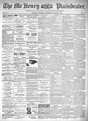 McHenry Plaindealer (McHenry, IL), 16 Mar 1898