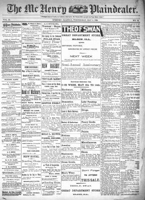 McHenry Plaindealer (McHenry, IL), 4 May 1898