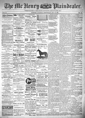 McHenry Plaindealer (McHenry, IL), 18 May 1898