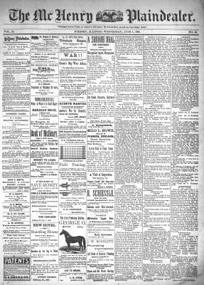 McHenry Plaindealer (McHenry, IL), 1 Jun 1898