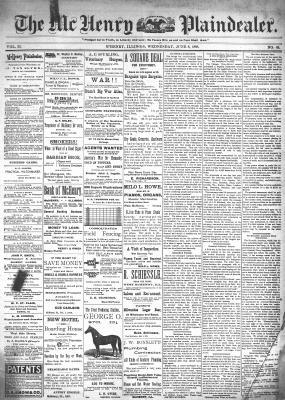 McHenry Plaindealer (McHenry, IL), 8 Jun 1898