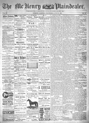 McHenry Plaindealer (McHenry, IL), 29 Jun 1898