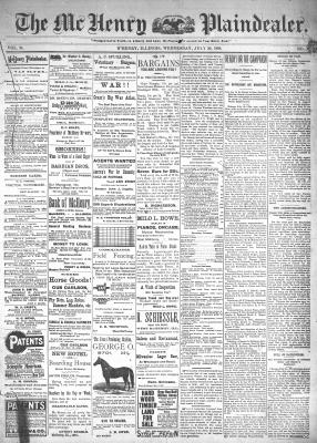 McHenry Plaindealer (McHenry, IL), 20 Jul 1898