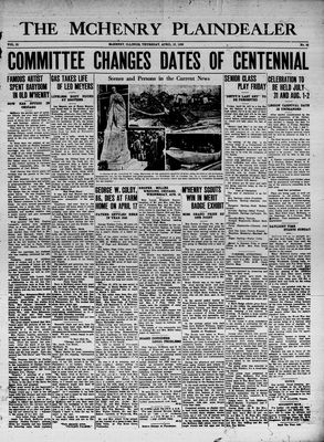 McHenry Plaindealer (McHenry, IL), 23 Apr 1936