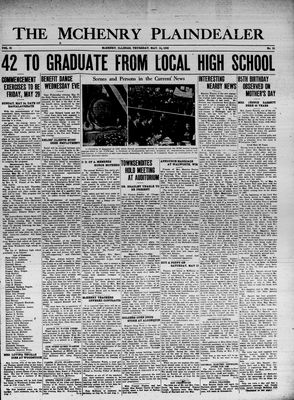 McHenry Plaindealer (McHenry, IL), 14 May 1936
