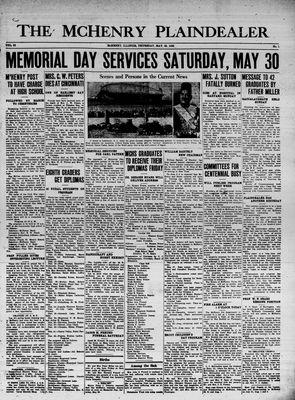 McHenry Plaindealer (McHenry, IL), 28 May 1936