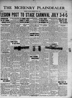 McHenry Plaindealer (McHenry, IL), 4 Jun 1936