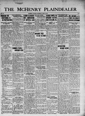 McHenry Plaindealer (McHenry, IL), 25 Jun 1936