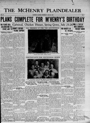McHenry Plaindealer (McHenry, IL), 23 Jul 1936