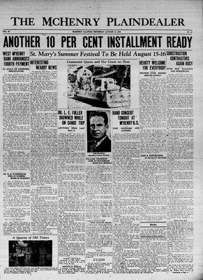 McHenry Plaindealer (McHenry, IL), 13 Aug 1936
