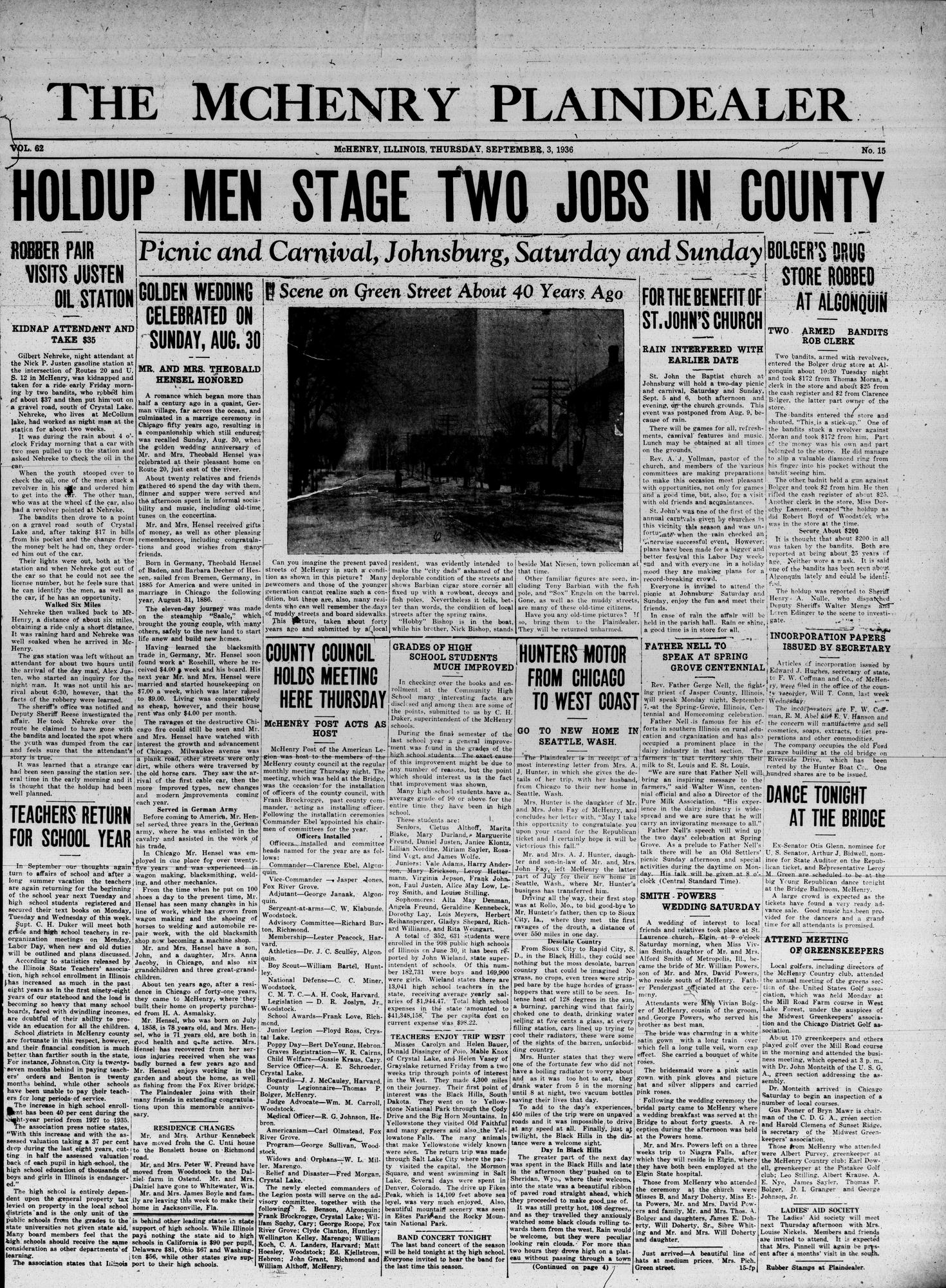 McHenry Plaindealer (McHenry, IL), 3 Sep 1936