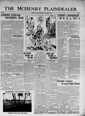 McHenry Plaindealer (McHenry, IL), 8 Oct 1936