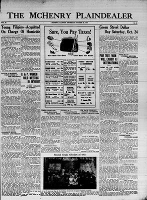 McHenry Plaindealer (McHenry, IL), 22 Oct 1936