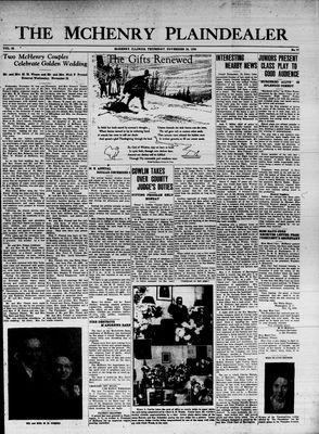 McHenry Plaindealer (McHenry, IL), 26 Nov 1936