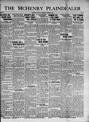 McHenry Plaindealer (McHenry, IL), 3 Dec 1936