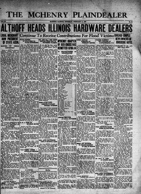 McHenry Plaindealer (McHenry, IL), 11 Feb 1937