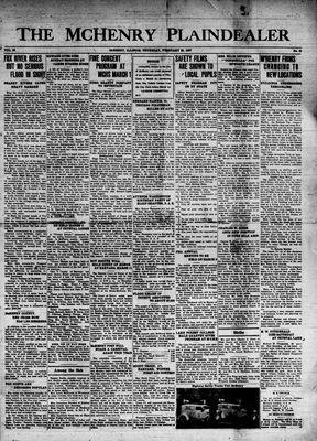 McHenry Plaindealer (McHenry, IL), 25 Feb 1937