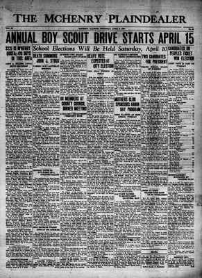 McHenry Plaindealer (McHenry, IL), 8 Apr 1937