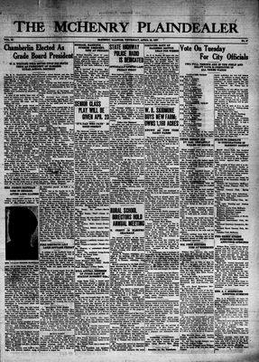 McHenry Plaindealer (McHenry, IL), 15 Apr 1937