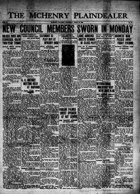 McHenry Plaindealer (McHenry, IL), 29 Apr 1937