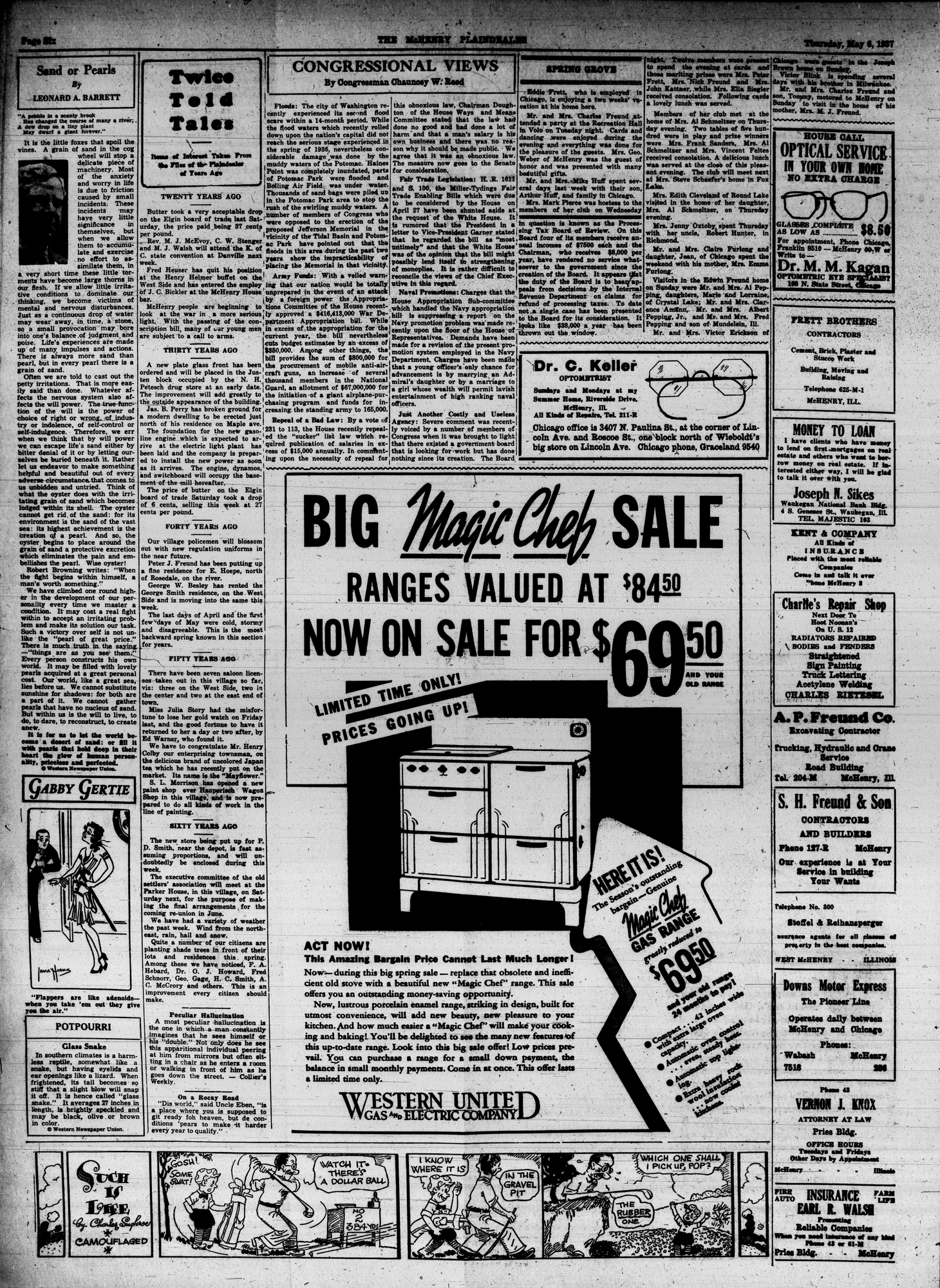 McHenry Plaindealer (McHenry, IL), 6 May 1937
