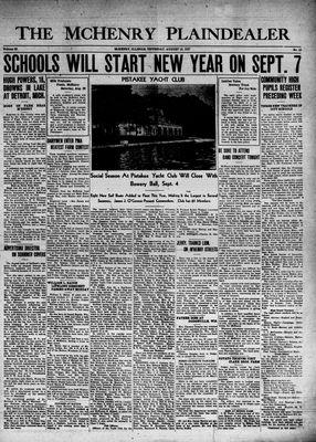 McHenry Plaindealer (McHenry, IL), 19 Aug 1937